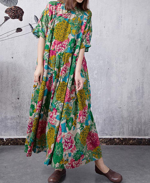 dress women green dress