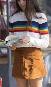 shirt,polaroid camera,grunge,stripes,vintage,tumbr,while,white
