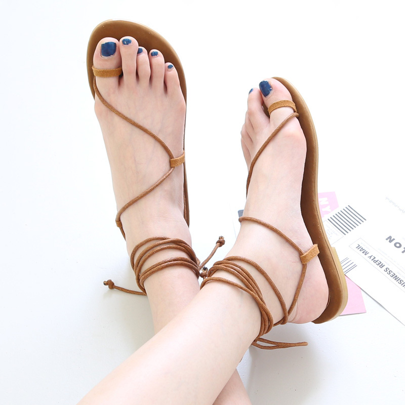 780a396d920f 2015 Novelty Fashion Women Sandals Peep Toe Ankle Strappy Summer Lace Up  Gladiator Sandals Women Shoes ...