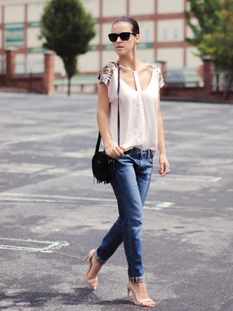bittersweet colours t-shirt jeans tank top shoes bag sunglasses