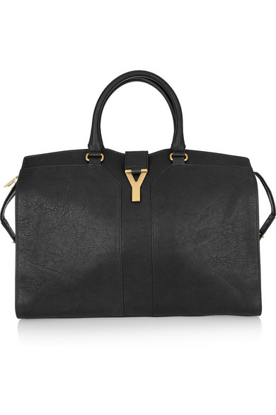 Saint Laurent | Cabas Chyc Large leather shopper | NET-A-PORTER.COM