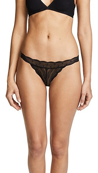 bikini sweet black swimwear