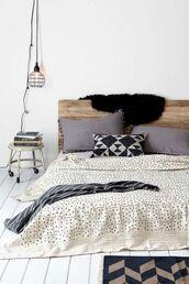 home accessory,bedding,pillow,rug,chevron,lamp,home furniture,home decor,cozy,bedroom,tumblr bedroom,geometric,polka dots