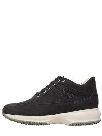 suede sneakers sneakers suede blue shoes