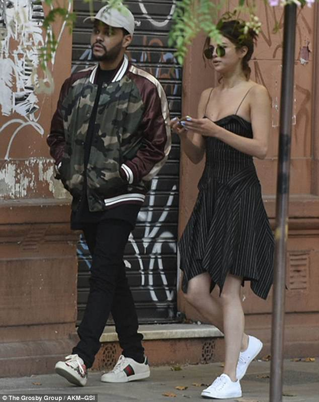 Selena Gomez and The Weeknd inBuenos Aires