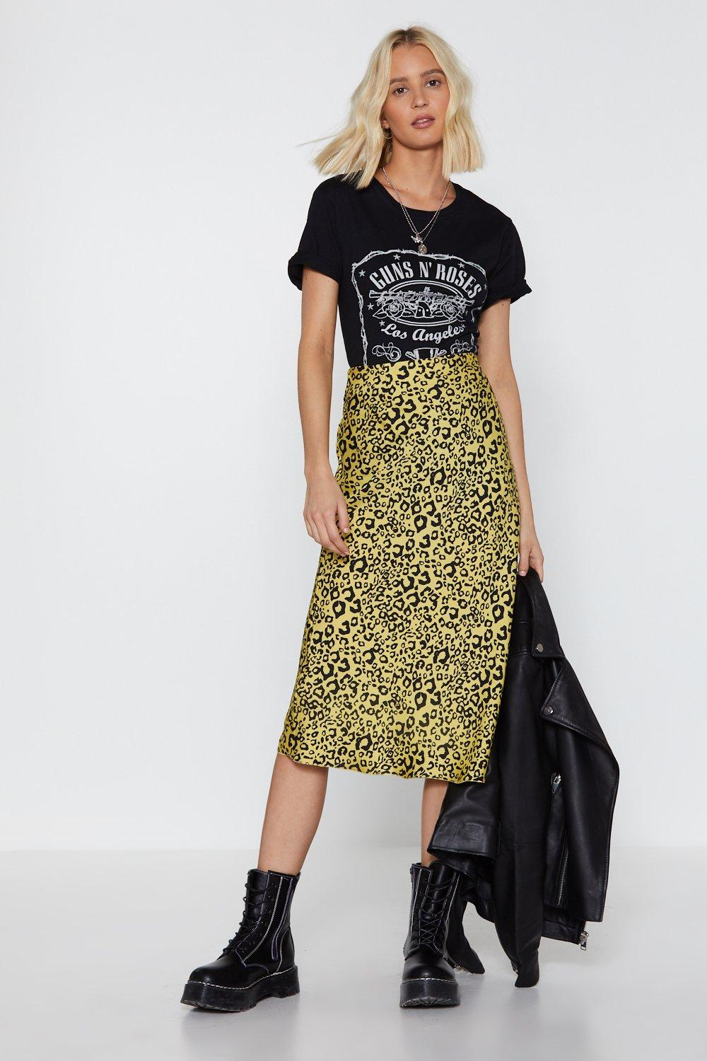 You've Cat Another Thing Coming Leopard Midi Skirt | Shop Clothes at Nasty Gal!