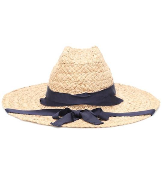 Lola Hats Save Me raffia hat in neutrals