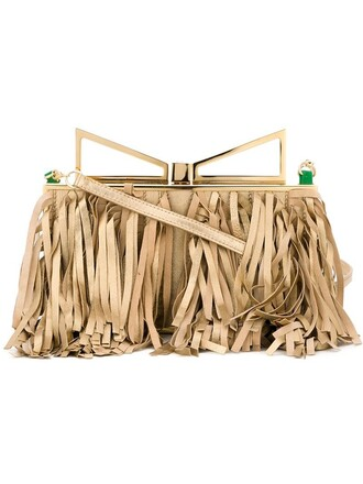 lady clutch metallic bag