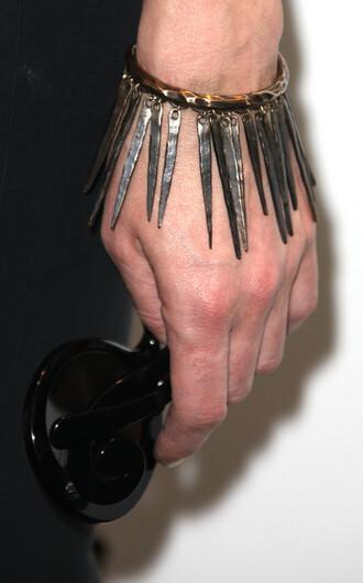 jewels charm bracelet spiked braclet