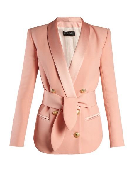 blazer pink jacket