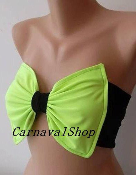women swimwear clothes neon green