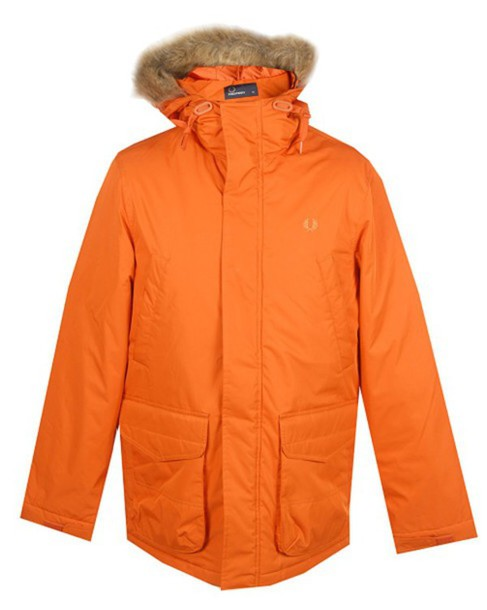 jacket jacket fredperry fred perry orange e