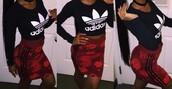 shirt,adidas,crop tops,long sleeves,black,cropped