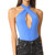 Free People Under The Sun Thong Bodysuit - Blue