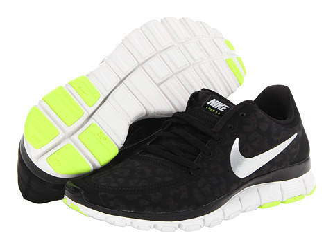 Nike Free 5.0 V4 Black/Anthracite/Volt/Metallic Silver - Zappos.com Free Shipping BOTH Ways