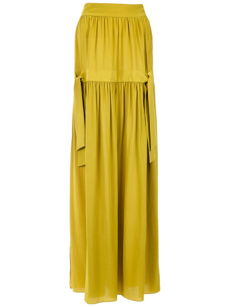 Adriana Degreas skirt maxi skirt maxi women silk