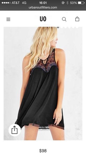dress urban outfitters boho dress