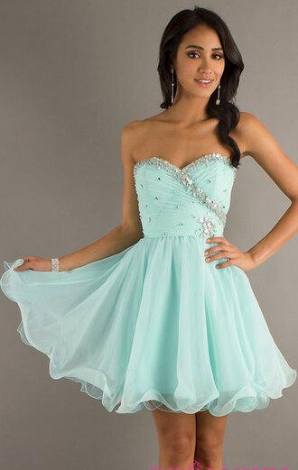 sparkling jeweled baby doll dress