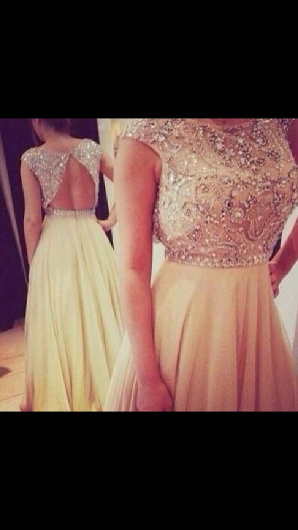 dress beige dress prom dress