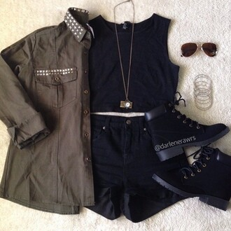 coat cute pretty love instagram studded jacket style fashion