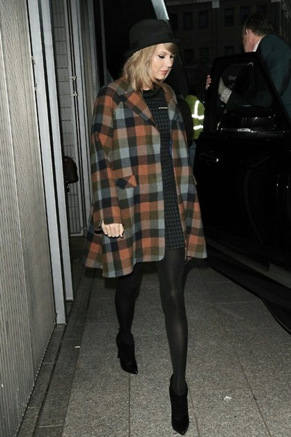 taylor swift coat fall outfits
