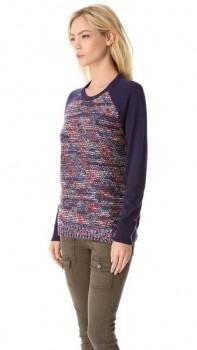 Colour Mix Combination Sweater - Femme Elegant Boutique