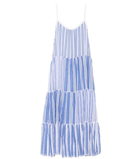 LemLem dress maxi dress maxi cotton blue