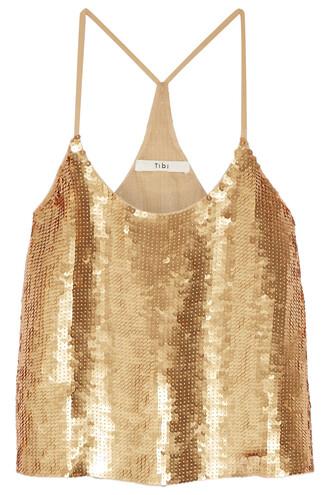 camisole silk gold underwear
