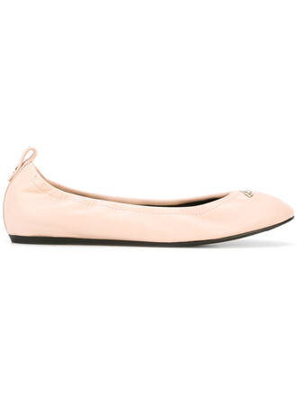 women classic leather purple pink shoes