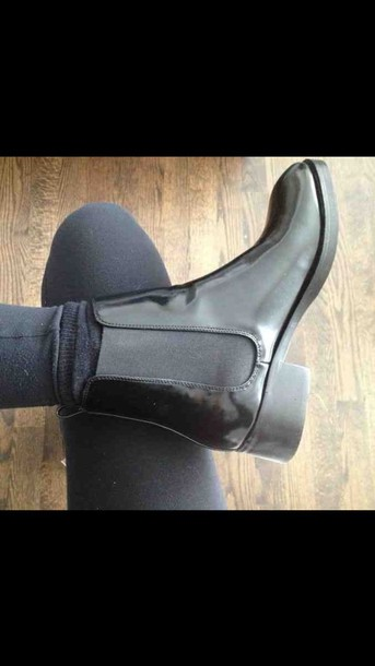 shoes boots style chelsea boots black boots