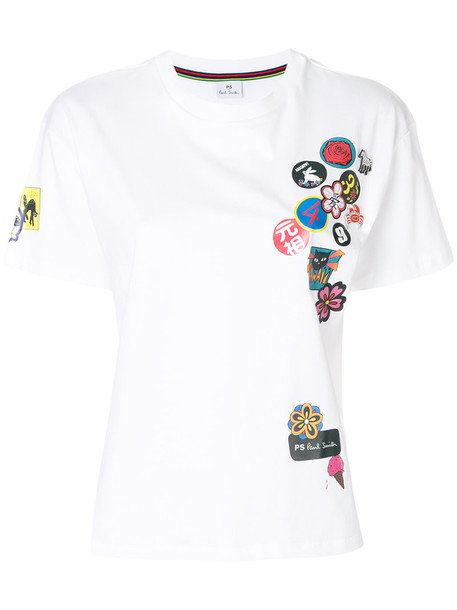 PS By Paul Smith t-shirt shirt t-shirt women white cotton top