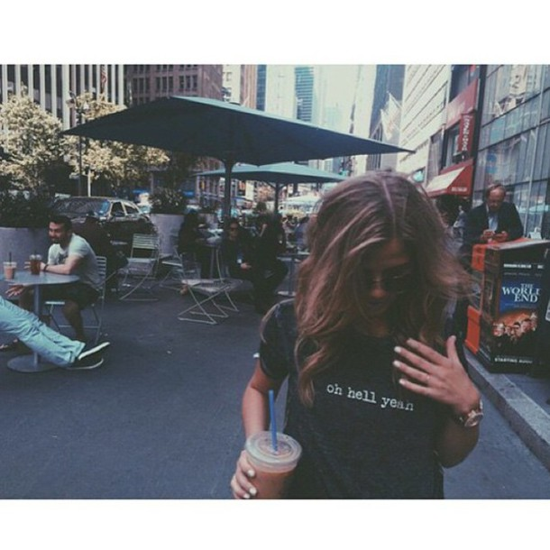 shirt sayings tumblr shirt tumblr outfit black t-shirt instagram
