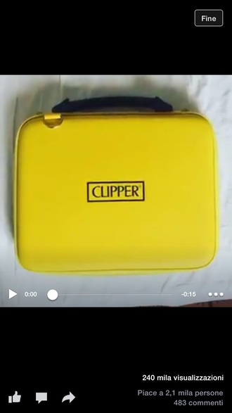 bag clippers! clippers clipper nail clipper lighter yellow
