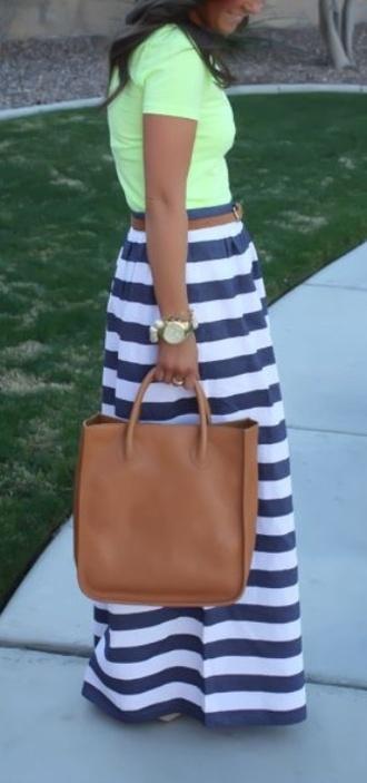 bag brown skirt tote bag