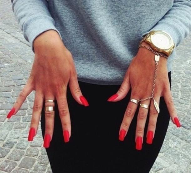 jewels, bracelets, ring, gold bracelet, jewelry, hand chain, hand ...