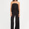 Great drape strapless palazzo jumpsuit black - gojane.com