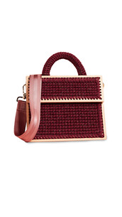 purse,burgundy,blush,bag