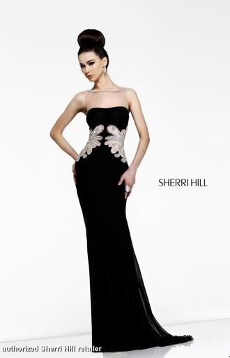 dress sherri hill gown evening dress