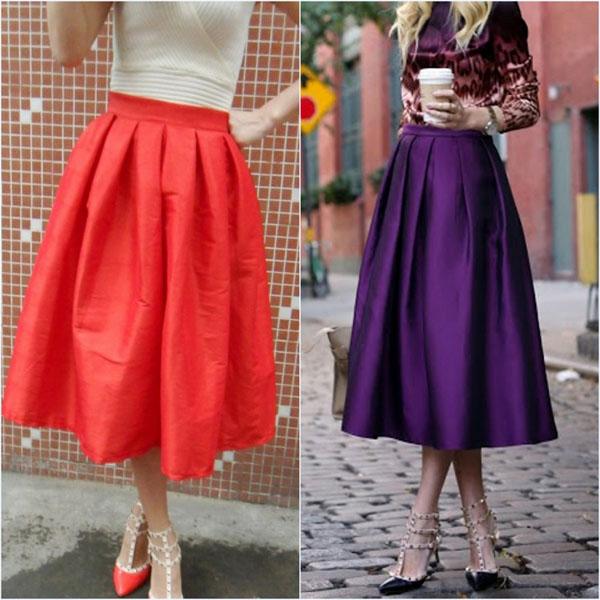 86c636fe31 Aliexpress.com : Buy Retro Stylish Female High Waist Ball Gown Skirts  Fashion Saias Femininas Vintage Women ...