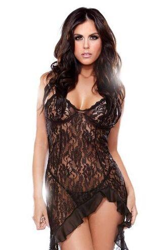 dress seductive lingerie set fantasy lingerie black lace dress g string bikiniluxe