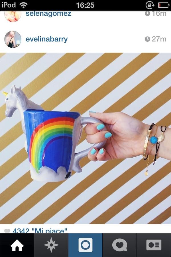 ThinkGeek :: 3D Unicorn Mug