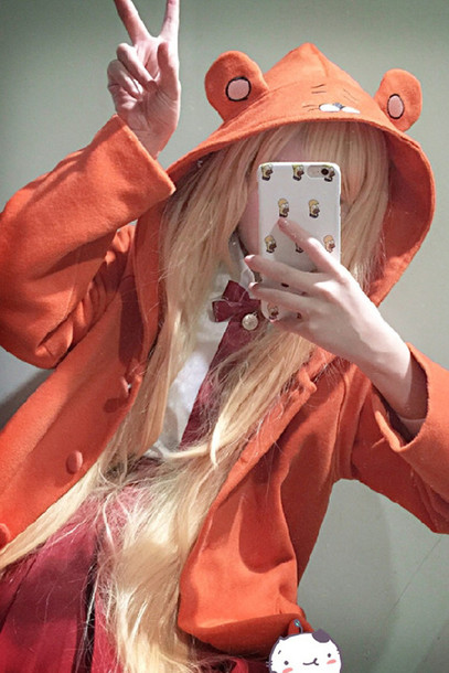 Coat Dejavu Cat Cosplay Anime Jacket Cape Kawaii Jfashion