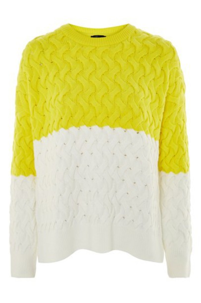 jumper yellow sweater