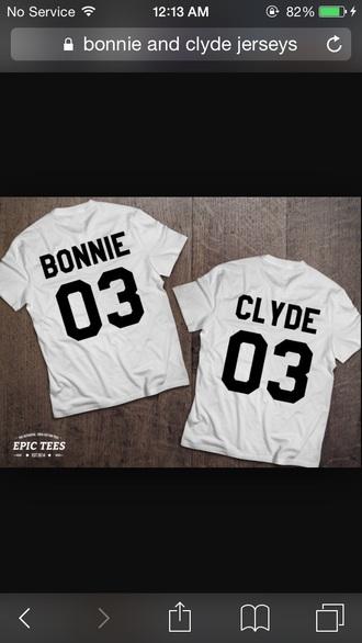 shirt bonnie and clyde