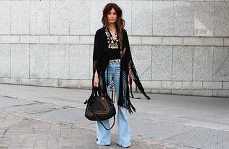 madame rosa blogger folk flare jeans