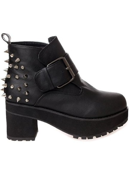 studded shoes boots studded boots