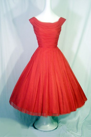 chanel dress red vintage prom dress enchanting dowager mashup ladygaga