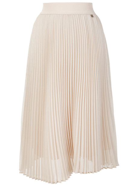 skirt pleated skirt pleated women midi nude