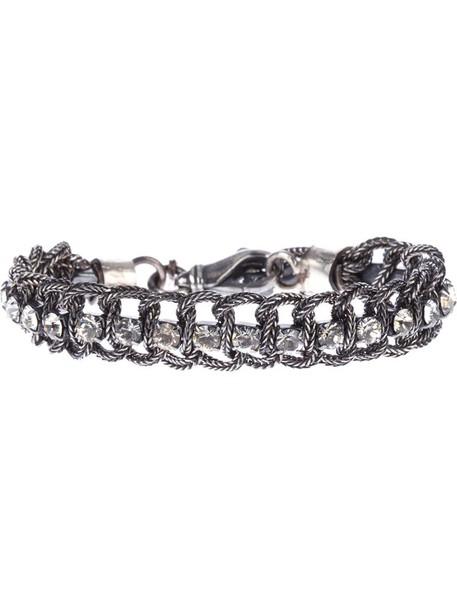 EMANUELE BICOCCHI women silver grey metallic jewels