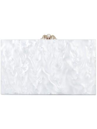 clutch white bag
